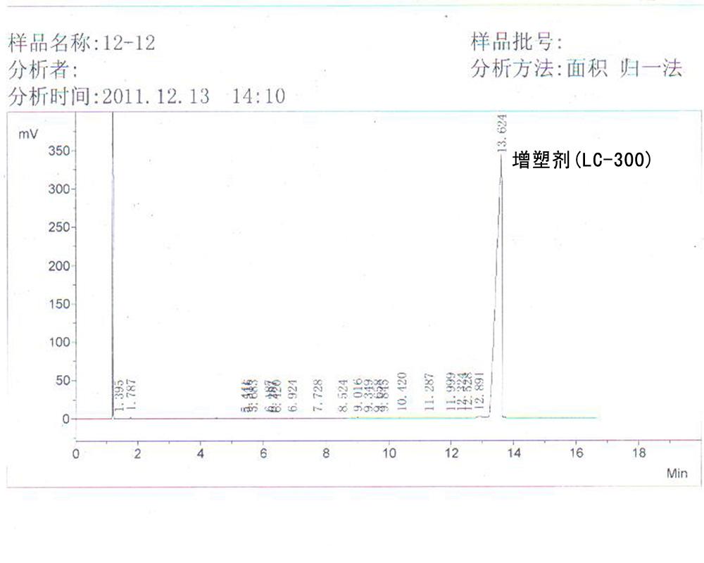对苯二甲酸二辛脂 (增塑剂 LC-300)