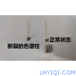 气相色谱柱安装不合适造成响应值变小